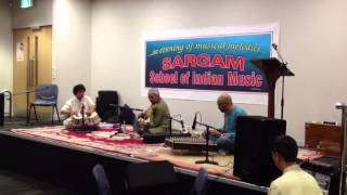 Violin rendition by Professor Sukhdev Madhur supported on T