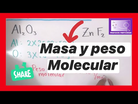Masa Y Peso Molecular De Un Compuesto