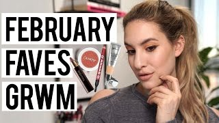 Get Ready With Me Using My February Favorites  Jamie Paige