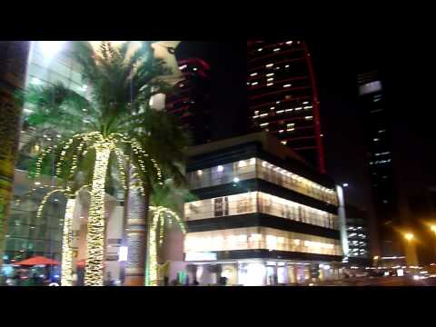 Mini footage - Doha city center by night (Doha, Qatar)