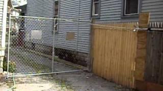 Gate Opener With A Garage Door Opener -less Money$$$$
