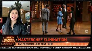 JESS FROM MASTERCHEF GETS TEARY AFTER SEEING ELIMINATION FOOTAGE
