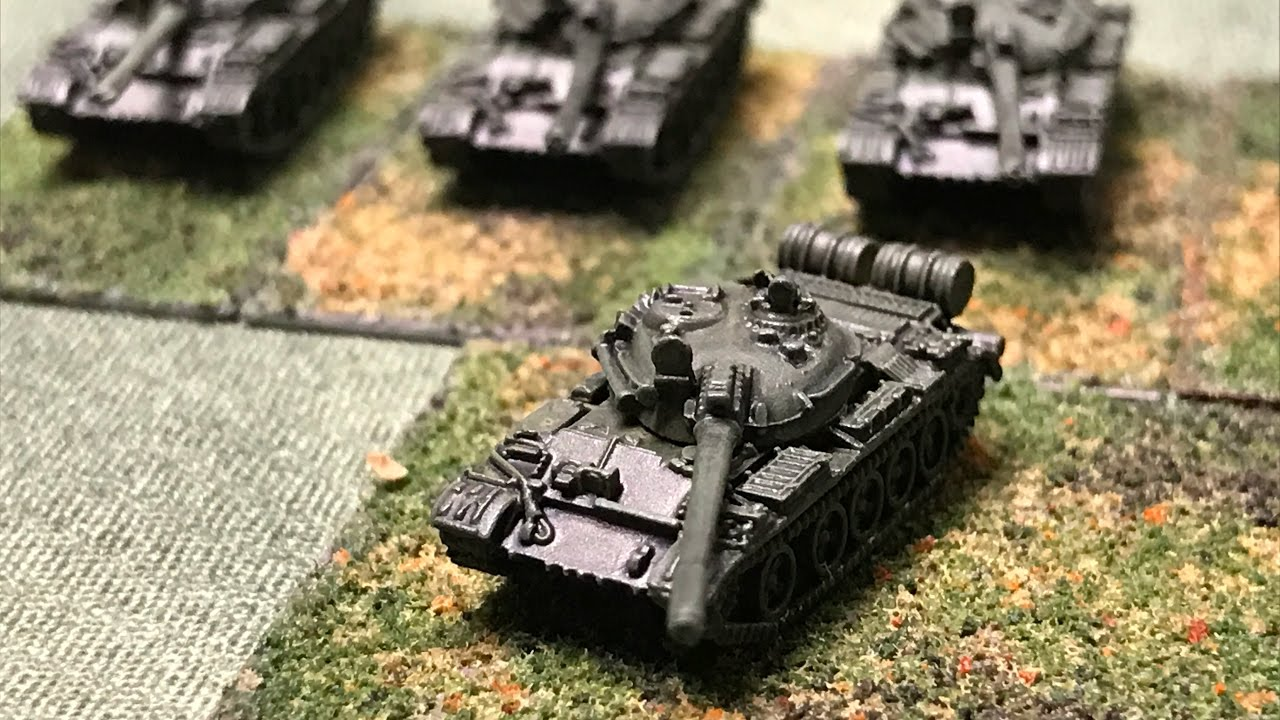 6mm Cold War - Russian T-55 Tanks from GHQ