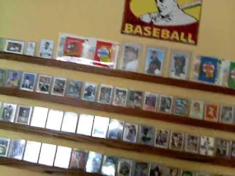 My Man Room CaveHow I Orginize Baseball Cards