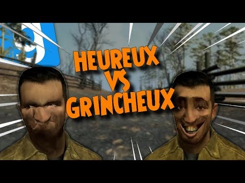 Mr HEUREUX Vs Mr GRINCHEUX - GMOD DarkRP