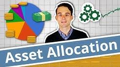 INVESTIEREN mit Asset Allocation - Vermögensaufteilung & Assetklassen erklärt! | Finanzlexikon