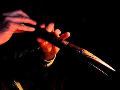 Bird flute  5 hole Native American Style Flute  Gm 432 Hz