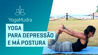 Yoga para depressão e má postura