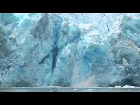 Thunderous Calving of Alaska
