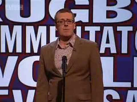 'What a Rugby Commentator...' - Mock the Week - BBC Two