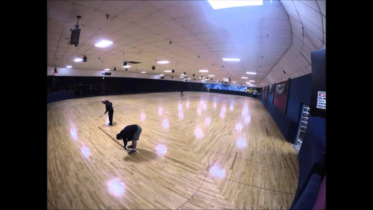 Skating Floor Surfacing Youtube