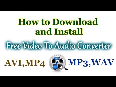 How To Convert Video To Mp3 - Free Video To Audio Converter.Quick and easy.
