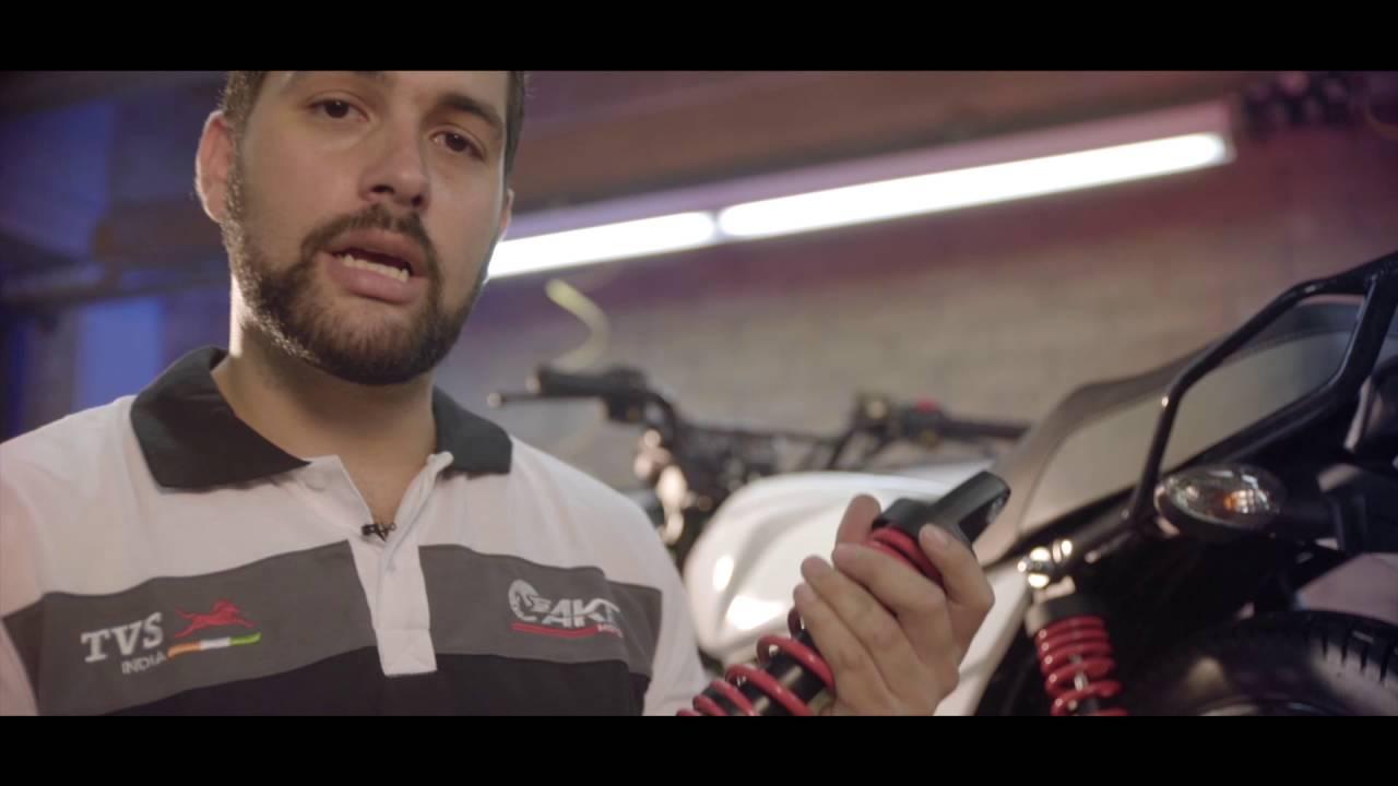 7aca6d4f5d0 Cómo ajustar el amortiguador trasero de tu moto - YouTube
