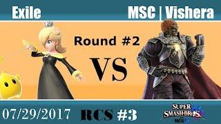 Baixar RCS #3 Smash Wii U - Exile (Rosalina, Sonic) vs MSC | Vishera (Ganondorf)