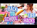 Back to School LIFE HACKS!! + Studying Tips! | Tara Michelle