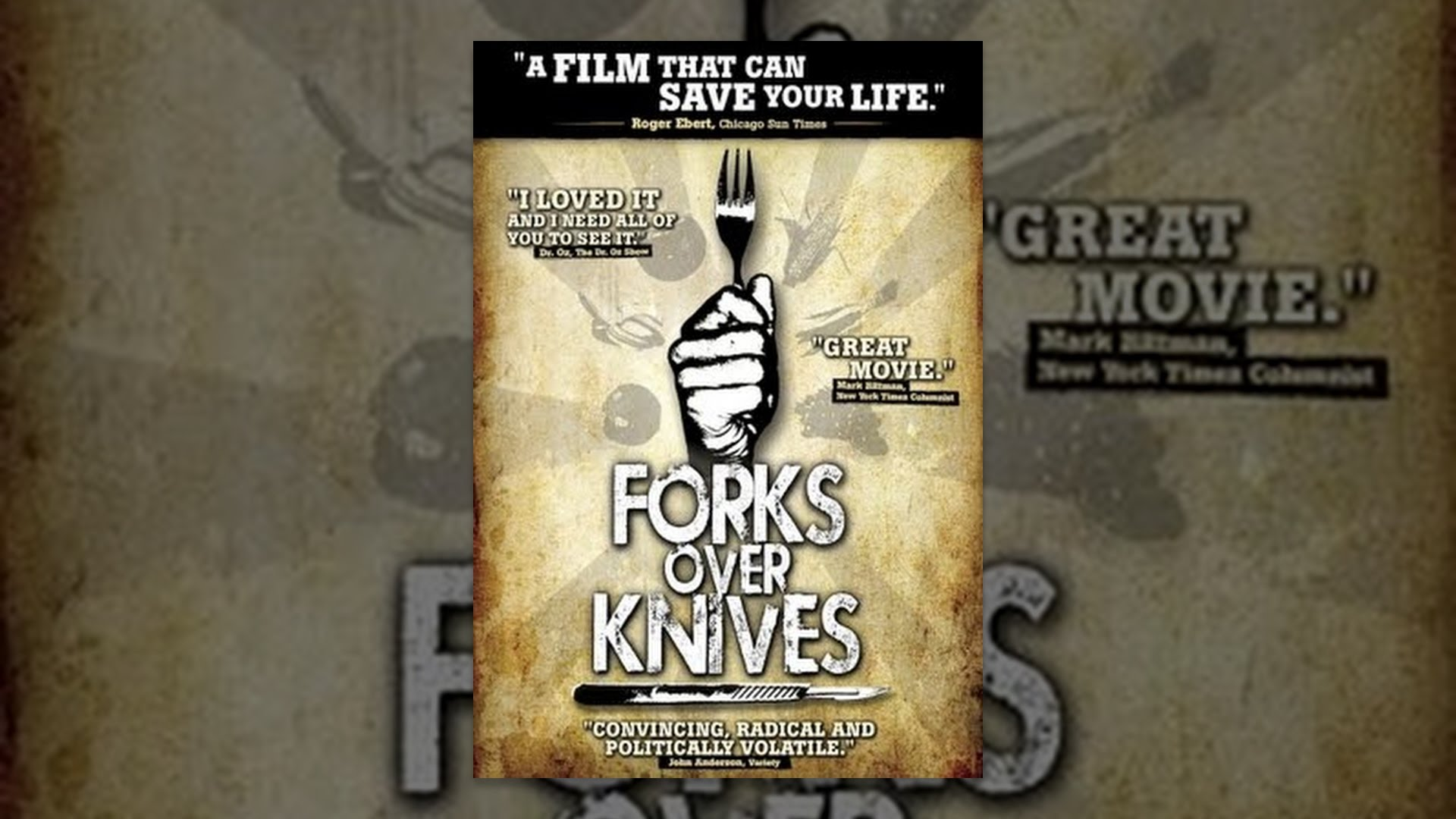 fork over knives The tomatometer score — based on the opinions of hundreds of film and television critics — is a trusted measurement of critical recommendation for millions of fans.