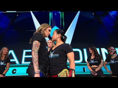 Mae Young Classic Second-Round opponents face off