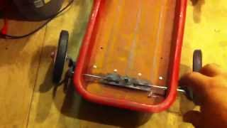 How To Build A Lowered Steerable Radio Flyer Red Wagon