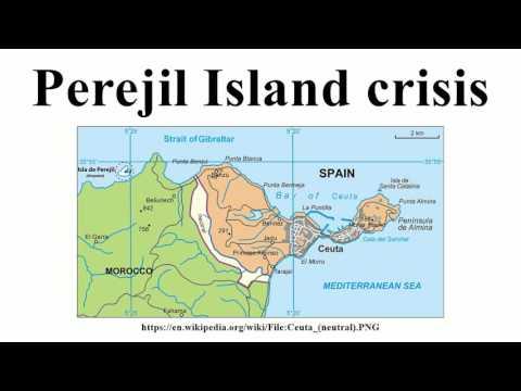 Perejil Island crisis