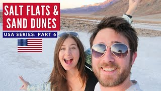 First VANLIFE Experience USA | Salt Flats Death Valley California | Brits in America Part 6