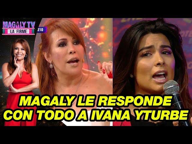 Magaly Medina se pronuncia sobre las declaraciones de Ivana Yturbe