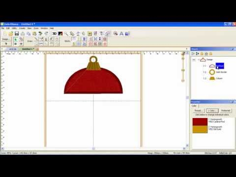 How To Create An Embroidery Design From Scratch In Minutes With Stitch Artist Youtube