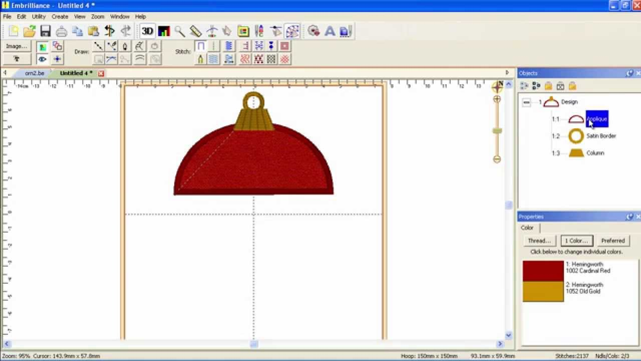How To Create An Embroidery Design From Scratch In Minutes With