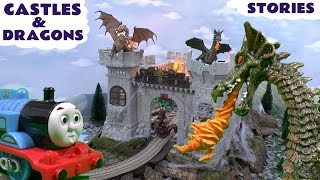 Thomas And Friends Castles Dragons Play Doh Surprise Eggs Hot Wheels Smurfs Toy Stories