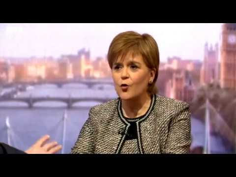 Nicola Sturgeon gives another no-nonsense interview on Marr - Sunday 14 January