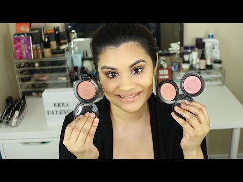 MAC Extra Dimension Blushes | Review | Swatches | How to Apply