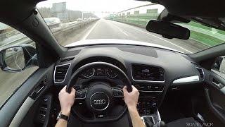 2012 audi rs q5 3 0 tfsi v6 milltek sport pov drive pure sound 1080p