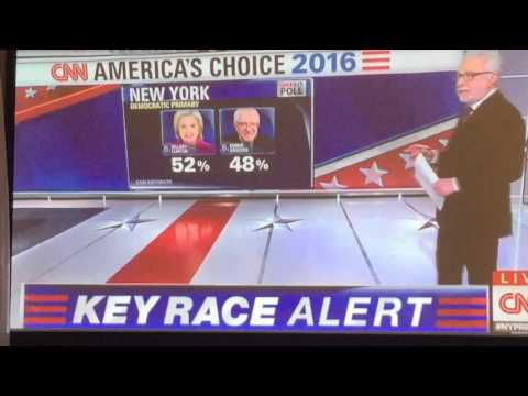 NY Dem Primary 2016 - Conflicting Results