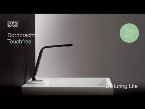 Dornbracht Touchfree: Water Control Without A Visible Sensor For Maximum  Design Variety