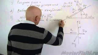 Подготовка к ЕГЭ по физике. Силы, законы Ньютона. Занятие 2