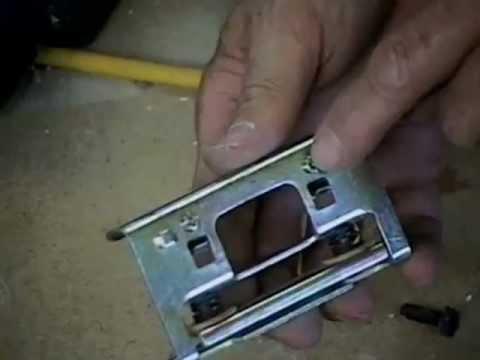 Planer blades how to sharpen