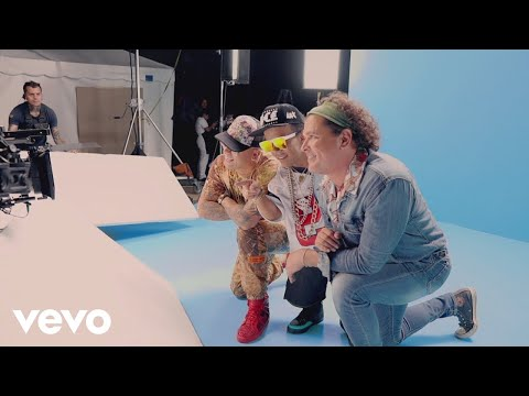 Carlos Vives, Wisin - Si Me Das Tu Amor (Behind the Scenes)