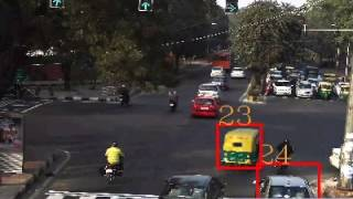 CoThinking Traffic Flow Video@India Delhi Red Light Enforcement Day#1