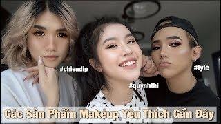 Ty + Chiêu + Quỳnh Thi Thích Gì Gần Đây ? | CURRENT FAVORITE BEAUTY PRODUCTS 2018