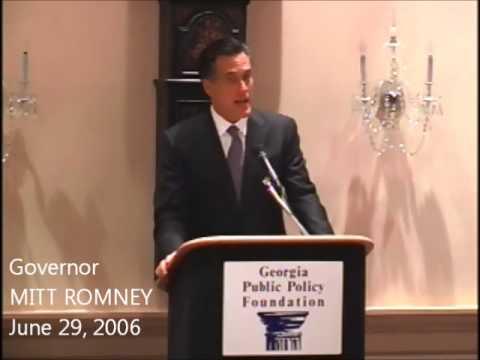 Massachusetts Governor Mitt Romney: June 2006