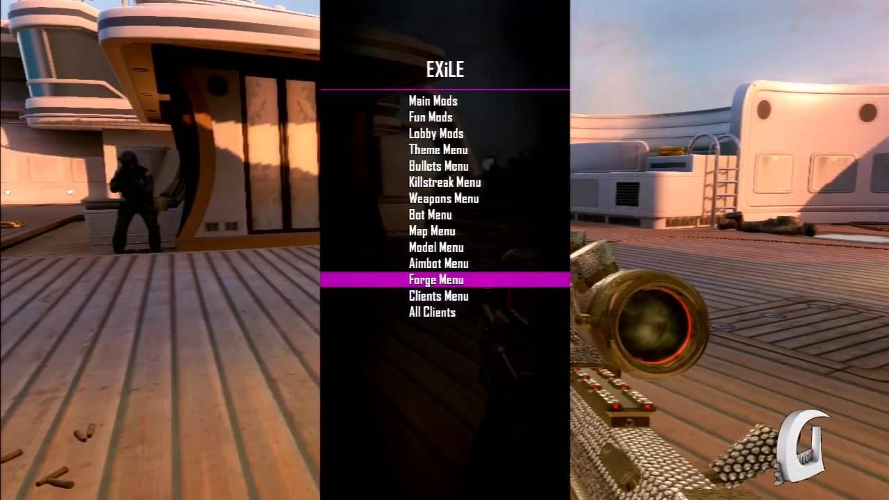 [PS3] EXiLe Black Ops 2 GSC Mod Menu [1 19]