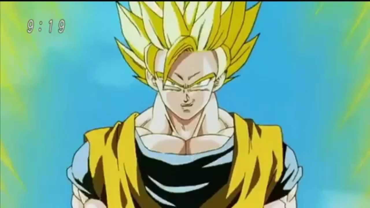 Dragon ball z goku se transforma em super saiyajin 2 hd youtube - Sangohan super saiyan 3 ...