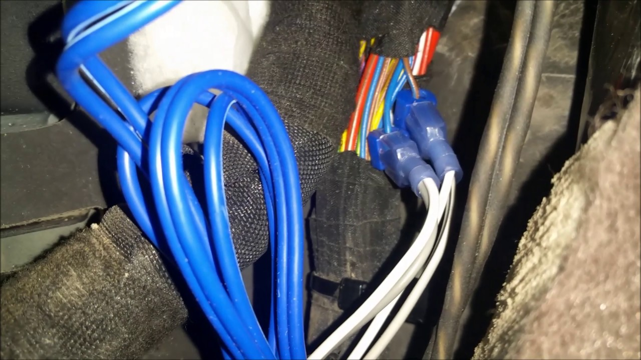 2015 buick verano aftermarket subs and amp to factory radio youtube 2014 buick verano wiring diagram [ 1280 x 720 Pixel ]