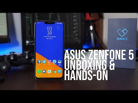ASUS Zenfone 5 Unboxing and Hands-On