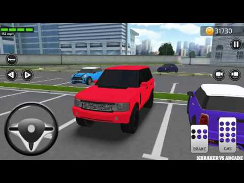 Parking Frenzy3D: Red SUV Car City Driving Simulator - Android GamePlay 2019