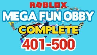 ROBLOX - MEGA FUN OBBY COMPLETED - Stufe 401-500 (Durcharbeiten)