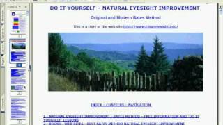 Natural Eyesight Improvement E-Book, Free Training