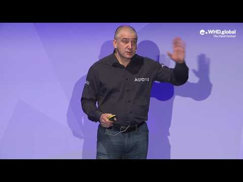 WHDglobal 2017: Acronis CEO Serguei Beloussov -  Ransomware-Resilient Backup