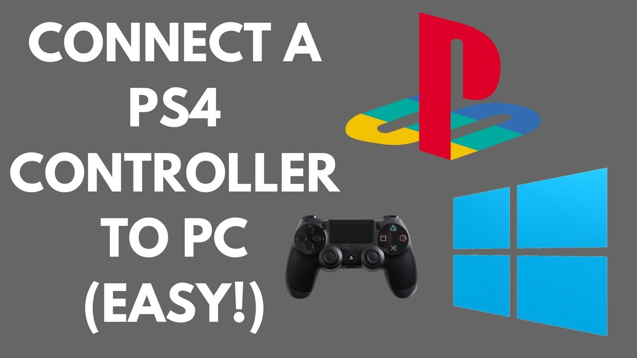 Connect ps4 controller to pc