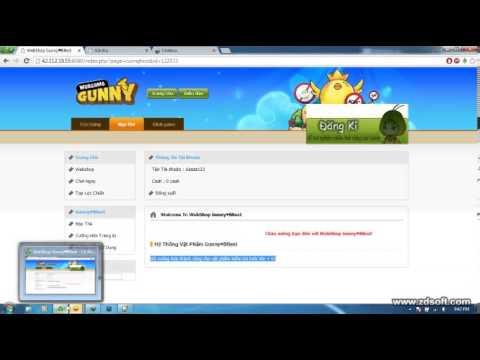Hướng Dẫn +15 Gunny Lậu Bằng Webshop