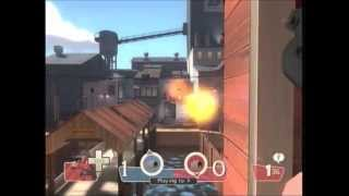Team Fortress 2 Xbox 360 gameplay